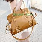 European&American Brand New British Retro PU Leather bowknot Women Clutch Hobo Purse Handbag Shoulder Bag B082