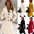 women new autumn outerwear coats winter slim women Woolen coat