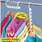 8pcs/set Free shipping!With retail box in the box/Space Saver Wonder Magic Hanger triples closet space clothes hanger