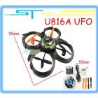 New Arrival UDI 807 2.4G 4CH Mini RC 4  UFO Aircraft Quadcopter RTF quad helicopter Upgrade + Free Shipping