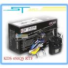 KDS INNOVA 450QS rc Helicopter 7CH 2.4G Plastic 450 3D remote control RTF Helicopter with KDS800 Gyro KDS450QS EMS Free Shiping