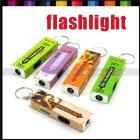 10pcs Mini Newfangled gifts with trick wacky flashlight lamp chewing gum keyring #3480