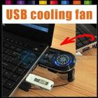 New Mini Vacuum Case Cooler USB Cooling Fan Base, for Laptop Notebook idea FYD-738 Blue LED Light