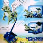 10pc 3 In 1 Educational DIY Solar Pegasus Chariot,pegasus,horse trainer,chariot,educationaltoyssets,Science,Nature,Alphabet#1121