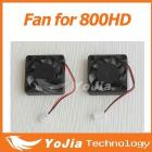 10pcs CPU Fan for dm800 dm800hd 800hd satellite receiver cable receiver free shipping post