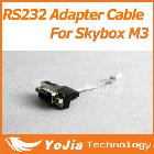 1pc RS232 adaptor cable for Skybox M3 mini Full HD satellite receiver free shipping post
