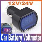 DC 12V / 24V Digital Red LED Auto Car Battery Voltage Voltmeter GAUGE Indicator monitor Meter Tester Free Shipping