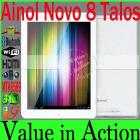 [PRE-SALE] 8 inch Ainol Novo 8 Talos MTK6589 Quad Core Tablet PC Android 4.1 IPS Screen 1GB 16GB 3G GPS Bluetooth Dual Camera