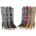 shoes 2012 NEW sandals party leisure ladies shoe dress women's high heels casual HOT SALE NS007 size 31-43