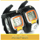 Protable Backlit Pair LCD Two Way Radio Intercom Digital Mobile Walkie Talkie Travel Wrist Watch DualBand Interphone Transceiver
