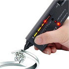 NEWEST Metal alert Gems Diamond Gemstone Tester Selector II Tool LED+Audio