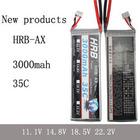 HRB 3000mAh 11.1V 3S 35C lipo li-po Lithium Polymer Battery RC Free shipping