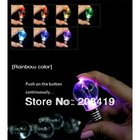mini color change LED light bulb keyring keychain key ring key chain accessory trimmings wholesale retail