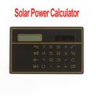 5pcs/lot, 8 Digits Solar Power Thin Mini Small Card Style Calculator, Wholesale