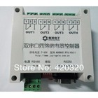 JY Dual serial RS485 +RS232 4 relay board relay module computer-controlled switch / PC intelligent controller