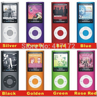 4th Gen MP4 Ultrathin 1.8Inch LCD Screen1-16GB FM Video MP4 Player (Does not include memory) San disk card insert mode