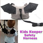 Kid Keeper Toddler Walking Safety Harness Backpack Bag Strap Rein Bat Free shipping