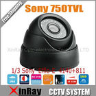 New CCD Effio-E 4140+811 750TVL IR Dome Indoor CCTV Camera,Infrared Camera XR-ICJA,Free Shipping