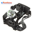 10PCS/LOT Securitylng 1600 Lumen CREE XML LED Headight Headlamp 3 Mode Waterproof Head Lamp & Bike Bicycle Light