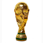 2014 Brazil World Cup Trophy Model 1:1 Full Size RESIN Titan Cup Souvenir trophy, resin materials 14