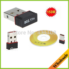 Free shipping Mini 150M Wifi Wireless USB Adapter IEEE 802.11n LAN Network Card for Computer & Networking for laptops & desktops