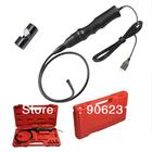 Free shipping!!USB Endoscope Inspection Snake Camera Borescope 6LEDs/7.2mm dia+Hard Box+Mirror