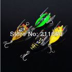 2013 Top Quality Fishing Lure 4color 4cm/6.4g fishing tackle Cicada Classic Proberos style Minnow fishing bait 8pc/lot Freeship
