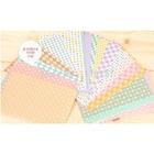 fujifilm instax mini film skin,Milky pastel color pattern decorative polaroid stickers -40sheets