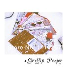 Polaroid Photo Decor Sticker(20pcs/set)Graffiti Photo Frame Polaroid Personalized Scrapbooking Paper Set TZ035