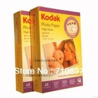 NEW COMING 100 pcs for ONE PACK Kodak 4R 230g glossy photo paper