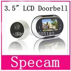 3.5 inch LCD Digital Door Viewer Peephole Doorbell 170 degrees Home Security door bell Camera Photo shooting 3.5