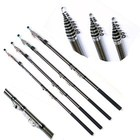 Quality Telescopic Fishing Rods Fishing Tackle Fish Pole Equipment Spinning Rod 2014 5.4M 4.5M
