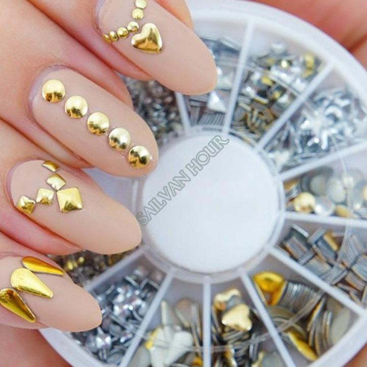 Маникюр декор на ногтях