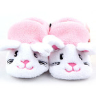 Toddler Boys Girls Shoes Animal Shape Fleece Soft Sole Cozy Crib Shoes Free Shipping