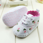 Girl Flower Shoes Spring/Autumn Shoes First Walkers Footwear Toddler Soft Sole Shoes Free&Drop Shipping