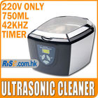 220 ~ 240V Timer Jewelry Dental Watch DVD VCD 5 Cycles Codyson CD-7810A Ultrasonic Cleaner