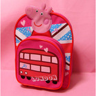 peppa pig nursery children's school bags learning education toy Animated cartoon for baby kids best gift