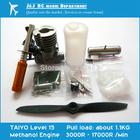 Free shipping TAIYO 15 Methanol Engine Model Airplane Sets Novice Necessary to Play DIY Model Aircraft, Japanese Engine