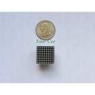 10 pcs 8x8 Mini Dot Matrix LED Display Red Common Anode Digital Tube 16-pin 20mmx20mm 1.9mm DIY Electronic Kit For Arduino