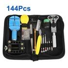 144 Pcs Watch Tools Repair Kit Watch Accessories Kit Professional Watch Repair Set Free Shipping