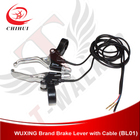 High Quality WUXING Brand Alloy Electronic Brake Handle Lever with 1350mm Length Wire+Free Shipping