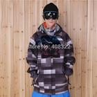 Free shipping 2014 NEW CHEAPEST genuine winter softshell skiing jacket men ski jacket softshell jacket snowboarding
