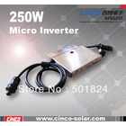 250w micro inverter, 110V 60HZ for USA CANADA MEXICO DOMINICA JAMAICA ,8years warranty,25years life.free shipping