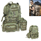 Nylon Fabric Military Combinative Backpack Mountaineering MOLLE Waist Bag for Outdoor