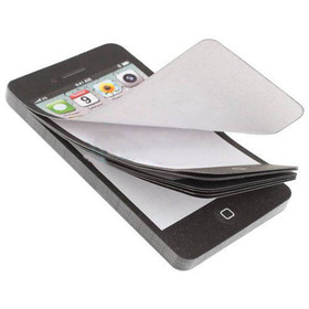 New Arrival Sticky Post It Note Paper Cell Phone Shaped Memo Pad Gift Office Supplies Drop Shipping OSS-0078