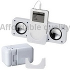 Portable Mini Folding Sound Box Speaker for iPod, Mobile, MP3, MP4 Free Shipping (White)