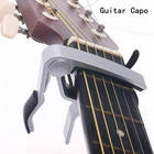 High Quality New Aluminium Alloy Silver Quick Change Clamp Key Acoustic Classic Guitar Capo For Tone Adjusting Hot