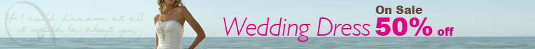 Wedding Dress On Sale 50% off