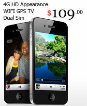 4G HD Appearance WIFI GPS TV Dual Sim