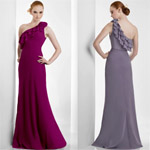 Hot Selling Bridesmaid Dresses One Shoulder Dress 2011 New Bridesmaid Dress Best Qulity